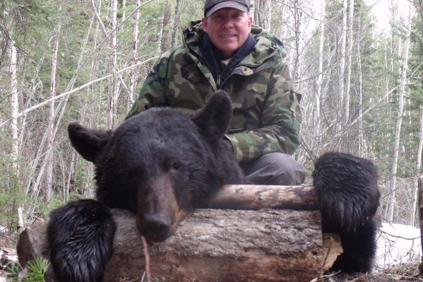 Ells River Black Bear Hunting Outfitters Alberta Canada